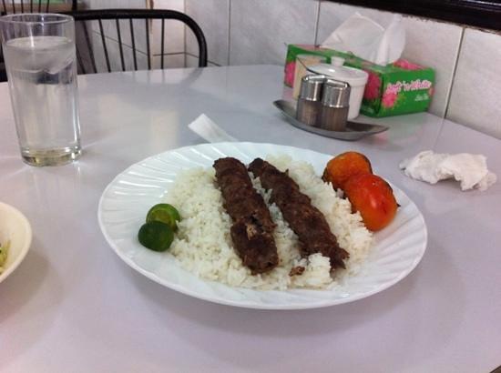 Ghazal : nothing special cholo kebab