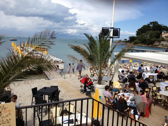 La Plage Keller : View from the upstairs