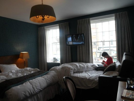Swan Hotel: Relaxing decor