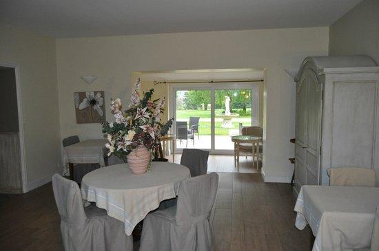 Hotel Le Chatellier : ancienne salle de déjeuner