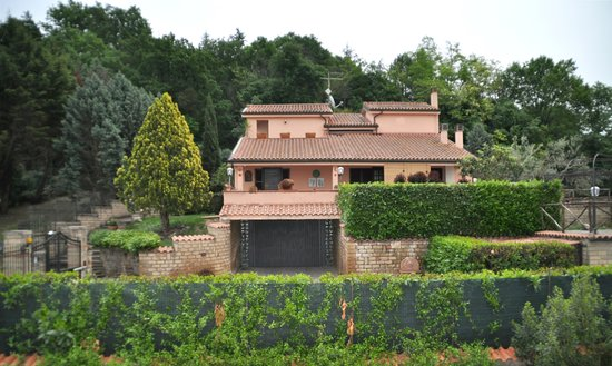 Bed and Breakfast Villa Giove : Panorama