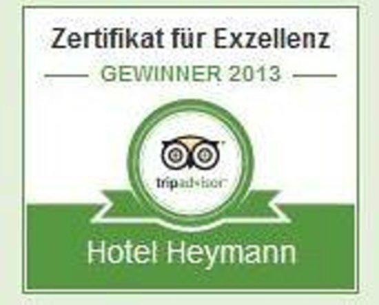 Hotel Heymann: Gewinner 2013