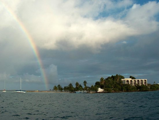 Hotel on the Cay: Yeah actual rainbow - enchanted place