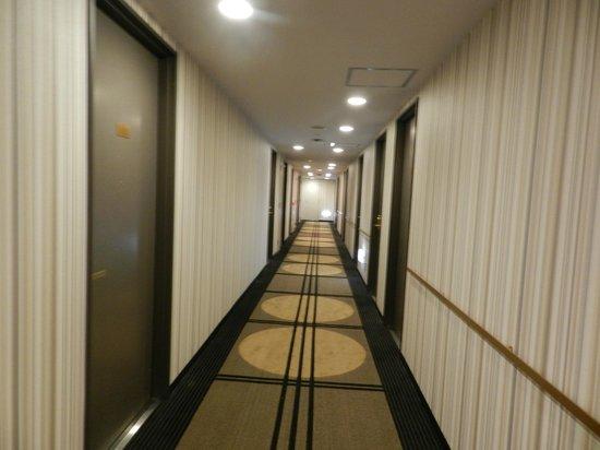 APA Hotel Tokyo Itabashi Ekimae: Corridor