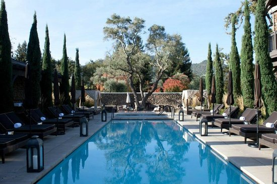Hotel Yountville: I want this pool!