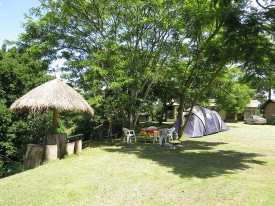 Campsite and relaxation area
