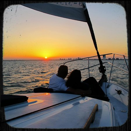 Miami Sailing - Private Day Charters: Biscayne Bay at Sunset