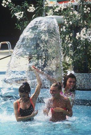 Hotel Terme Internazionale: CASCATE CERVICALI