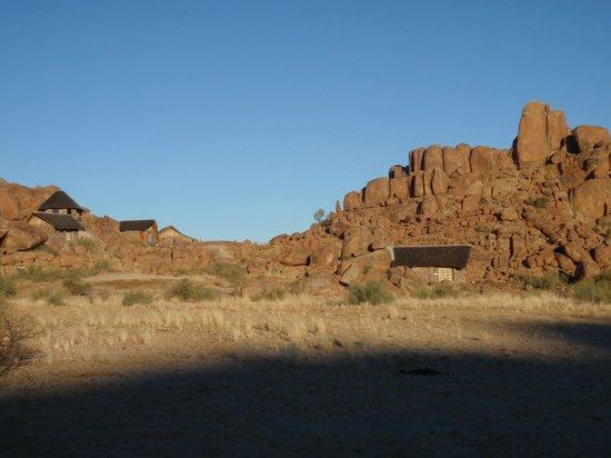 "Canyon Lodge: I lodges ""mimetici"""