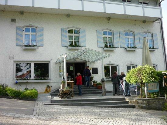 Landhotel Adler: Ansicht Hoteleingang.
