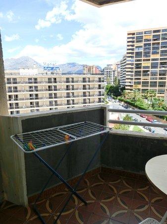 San Jaime Apartments: Вид на горы и Agua Azul