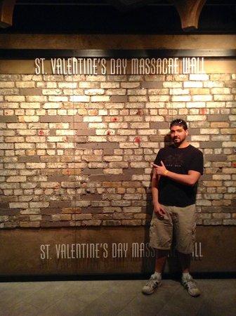 St Valentines Day Massacre Wall Izobrazhenie The Mob Museum Las