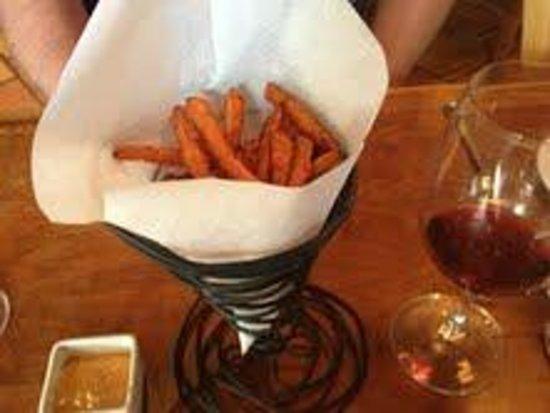 Corkscrew Cafe: Sweet potato Fries