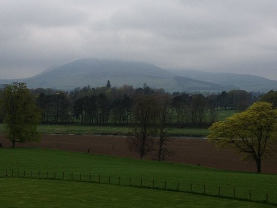 Cornhill House: The view towards Tinto Hill
