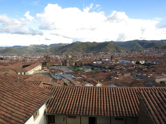 Hostal Casa del Inka: 屋上テラスからの眺め(昼)