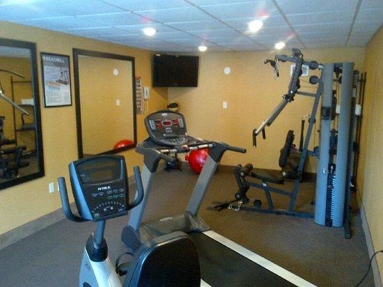 Quality Inn St. Helena : Fitness Center
