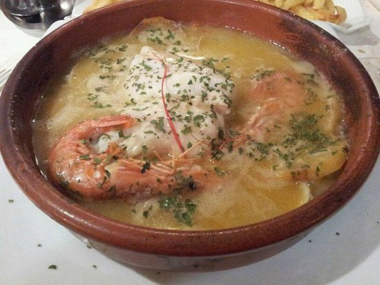 Canelinas: plato restaurante