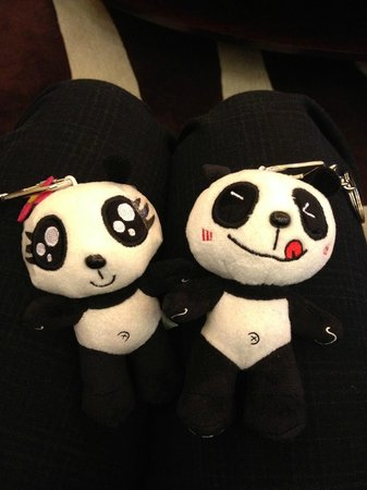 Langham Place, Beijing Capital Airport: lovely panda soft toy