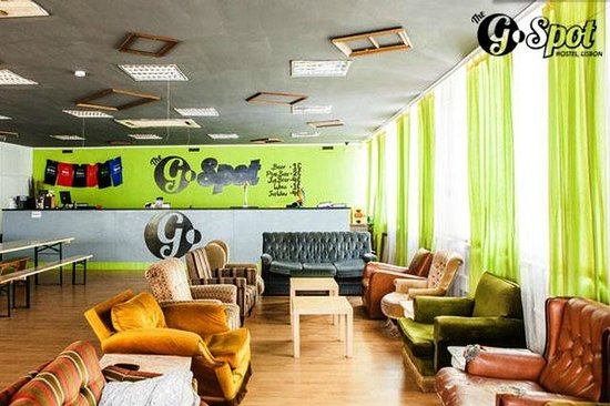 The G Spot Hostel: Our Lounge