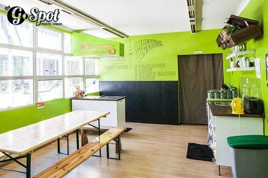 The G Spot Hostel: Gastronomy Room