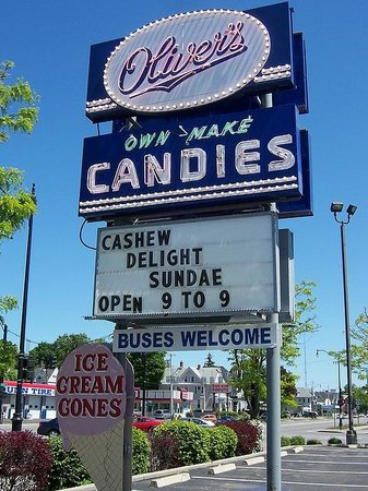 Batavia, Estado de Nueva York: Oliver's Candies