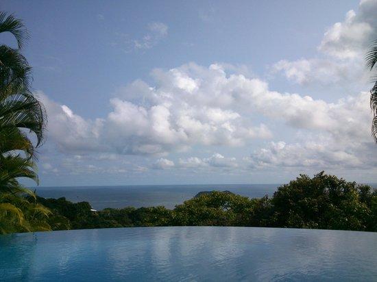 Hotel Villa Roca: La piscina infinita...