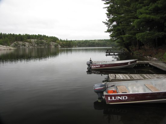 Charlton Lake Camp: The Docks