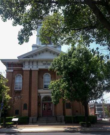 Gettysburg Museum of History : Adams County Courthouse