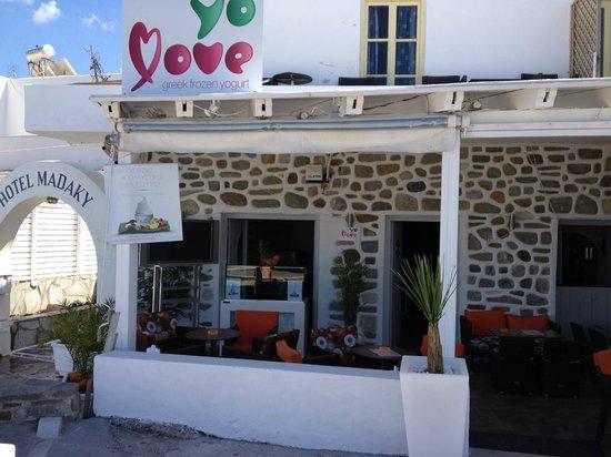 Yolove: yo love greek frozen yogurt