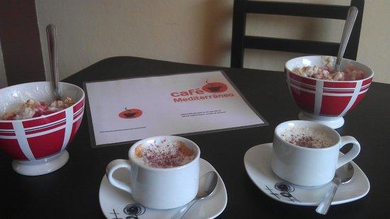 Cafe Mediterraneo: healthy breakfast