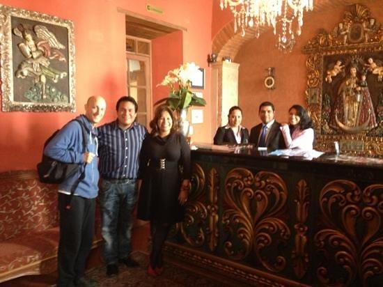 Hotel Monasterio : monasterio staff