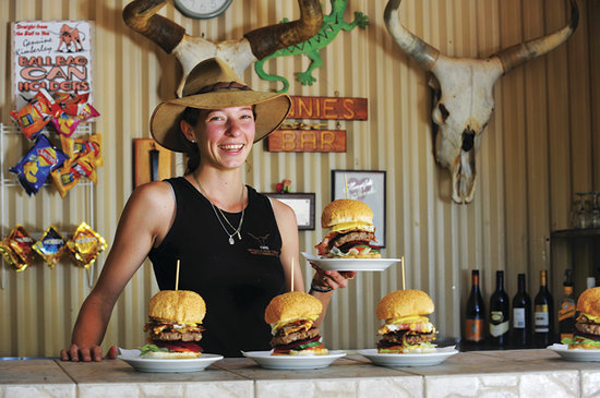 Drysdale River Station: Our huge Kimberley Beef Burgers