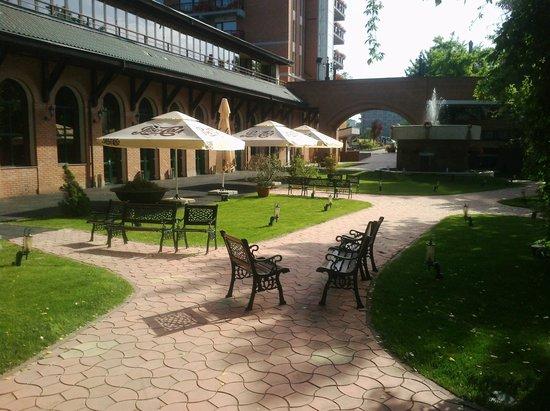 Caro Golf Hotel : Hotel Garden
