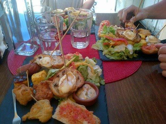 Le Tapas : Menu Rapido du midi à 10euros avec le café ou un verre de vin