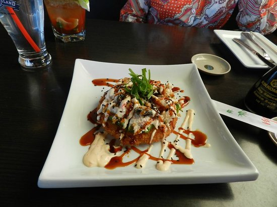 Firehouse Grill: Sushizza Appetizer