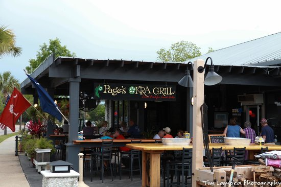 Image result for page's okra grill