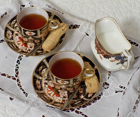 Gilmourhill B&B: Enjoy a cup of tea and relax