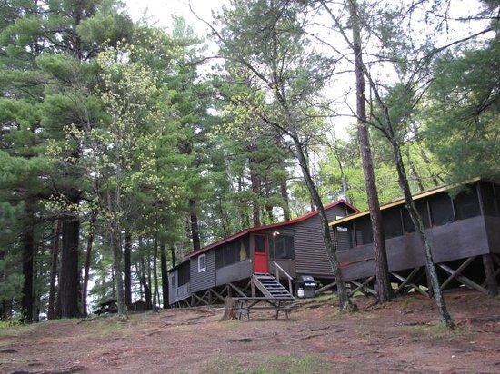 Charlton Lake Camp: Our Cabin
