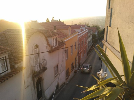 Nice Way Sintra: View from six bed dorm