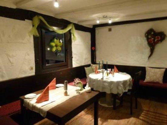 Landhotel Laube: Restaurant