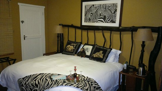 Acorn B&B in Durban : The cozy & comfy bed