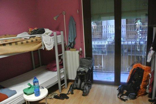 Itaca Hostel: La chambre rouge