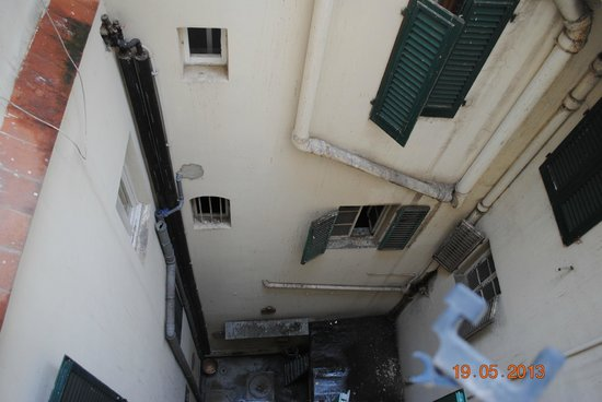 Hotel Rex: widok z okna