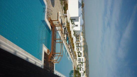 Mitsis Blue Domes Resort & Spa: Piscine extérieure