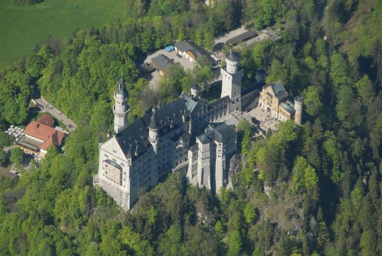 Heliflieger - Private Flights: Schloß Neuschwanstein
