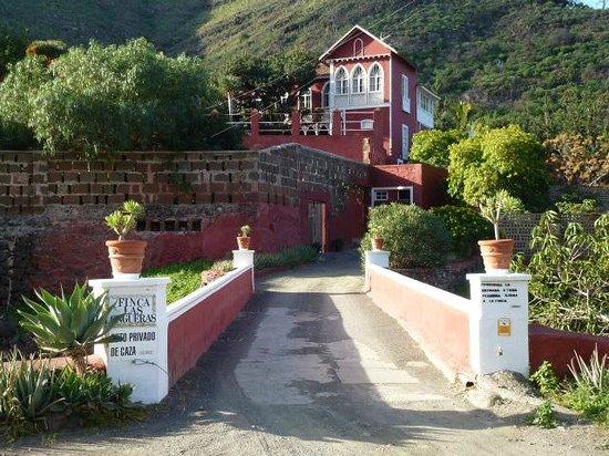 Hotel Rural Las Longueras: Accès depuis la route