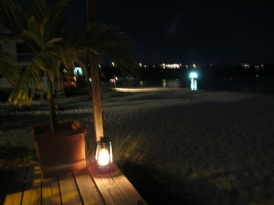 SandBar: View from our table...