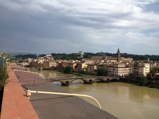 The Westin Excelsior Florence: Vista dalla Stanza