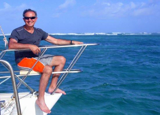 Passion Oceane Eco Cruises and Adventures: En la quilla