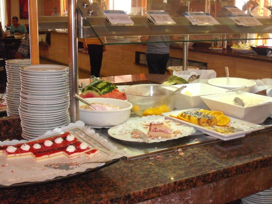 Hotel Calma: les desserts